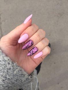 Semi-permanent varnish, false nails, patches: which manicure to choose? - My Nails Mauve Nails, Pink Nails, My Nails, Gel Nail Art, Nail Manicure, Nail Tattoo, Trendy Nail Art, Super Nails, Perfect Nails
