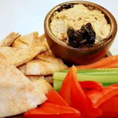 Hummus with Feta and Preserved Lemon, a recipe from the ATCO Blue Flame Kitchen.