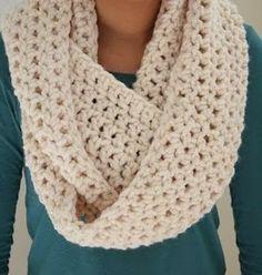 Infinity Scarf Crochet Pattern