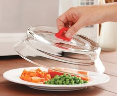 Glass Microwave Plate Cover