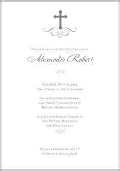 baptism invitations | Free Printable Christening Invitations Cards ...