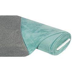 """Kuschelweiches Alpenfleece """"Bicolor"""" mit graumelierter Sweat- und weißer Fleeceseite, Florhöhe: 4 mm, Breite: 145 cm, Gewicht: ca. 330 g/m², Material: 65 % Polyester, 35 % Baumwolle.Eine neue Jacke lieber aus kuschelweichem Wellness-Fleece oder doch besser aus Sweatstoff? Warum nicht beides! Dieses superweiche Alpenfleece vereint Sweat- und Fleecestoff in einem. Die verschiedenen Stoffseiten können beliebig als Innen- oder Au&szl..."""