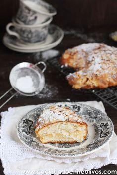 "Cruasán de almendras o ""Croissants aux amandes"". Receta paso a paso."