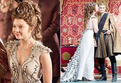 ~  King Goffrey (Jack Gleeson) and Margery Tyrell ( Natalie Dormer) Wedding in Game of Thrones ~