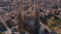 Completing Gaudí's Unfinished Sagrada Familia in One Minute: A Mesmerizing Video. I had never heard of this man or his work until Alan Parson's Project: La Sagrada Familia album