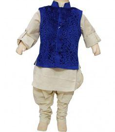 Details about NEW BOYS INDIAN KURTA SHERWANI SUIT (3 pcs) 1 to 12 ...