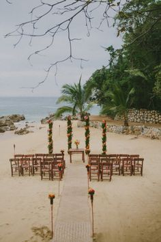 Photography by rouxby.com Event Planning by vallarta-adventures.com  Read more - http://www.stylemepretty.com/2013/03/14/puerto-vallarta-mexico-wedding-from-rouxby-vallarta-adventures/