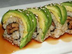 Vegan caterpillar roll