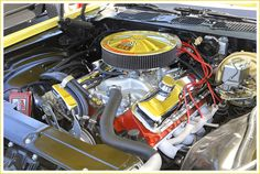 454 Chevy in a 1970 Camaro SS at