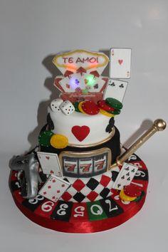 Torta Casino 100% Comestible.
