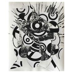 douke, 2015 (ink, gelatin silver print)