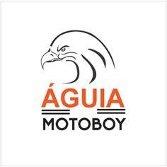 Criação de logotipo para Águia Motoboy