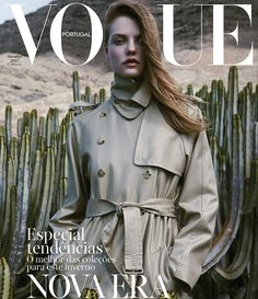 Vogue Portugal September 2017 Roos Abels by Lukasz Pukowiec