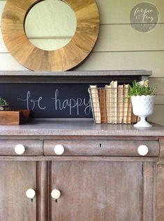 """Amanda at Ferpie and Fray created this gorgeous """"driftwood"""" effect on this empire buffet using Winter White Glaze Effects! Head over the The Modern Cottage Company's Instameet tomorrow to see Amanda's demo and pick up some great furniture refinishing tips! Amanda says, """"Finished up this pretty empire buffet. I really wanted to try the General Finishes Winter White Glaze over wood and it turned out so cool! This is a great way to create a """"driftwood"""" look. Love how easy it is to work with…"""