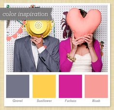 What Color Compliments Pink color combination blue, blue, deep pink, flirt, fuchsia, fuschia
