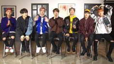 BTS Interview with YTN News Photo ❤ #BTS #방탄소년단