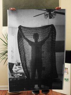 Blanket Poster. $50.00, via Etsy.