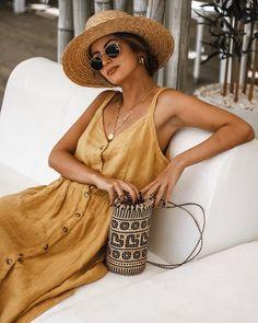20 Trendy Womens Fashion For Summer Sundresses Clothes Look Fashion, Fashion Outfits, Womens Fashion, Fashion Trends, Fashion Ideas, Latest Fashion, Fashion Clothes, French Fashion, Fashion Tips