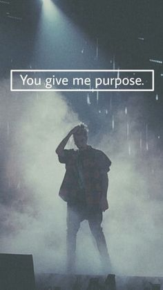 You give me purpose...in every way...❤️
