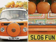 ..Swoon. You wouldn't know it by all the pink stuff I post but Orange is one of my FAVORITE colors. Orange VW. Heaven