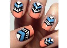 Azteckie wzorki na paznokcie - odświeżamy trend na lato - Strona 6