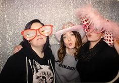 """Pic 3 of our photo booth series! """"All About Beauty"""" Spring 2016 Trends @rivercreeresort @ibsupply #jigsawforhair @love_kevin_murphy @tawshadawn @pams_beauties @hairbykbez #jigsawforhair #kevinmurphy #yeg #yegbeauty #yeghair #yegstylist  #yegfashion #yeghairstylist #yegstyle #yegsalon #yegsalons #yeggers #yeglocal #yegwomen"""