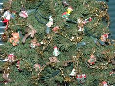 Miniature Hallmark Ornament Tree