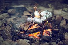 campfire cooking. via kinfolk//