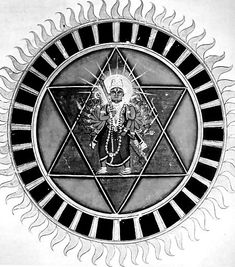 Sudarshana Chakra - The crown chakra of the Creator