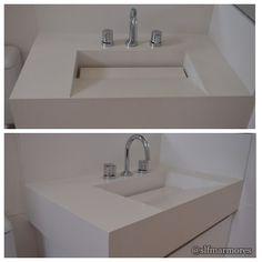 SLF Mármores - Google+ Lavatório Cuba de Pedra em Branco Prime Cuba, Plant Decor, Sinks, Villa, Bathroom, Google, Plants, Home Decor, Wood Bathroom