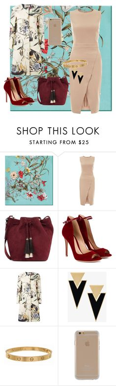 """otoño"" by maritz201008 ❤ liked on Polyvore featuring Gucci, New Look, Loeffler Randall, Gianvito Rossi, Marni, Yves Saint Laurent, Cartier and Agent 18"