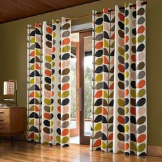 NEW Orla Kiely Ready Made Curtains - at Dotmaison