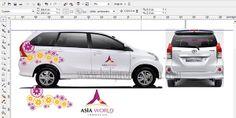 Desain Branding Mobil Bali
