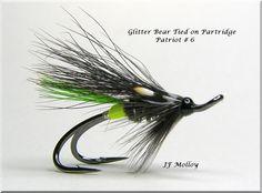 Glitter Bear Double Partridge Patriot