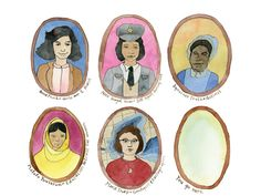 Brave Women Art Cards by Ashmae project video thumbnail