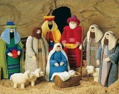 Angel Crib Knitting Pattern : 1000+ images about Crochet nativity and angels on Pinterest Nativity, Nativ...