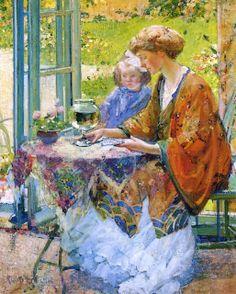 Richard Edward Miller. Goldfish, 1912
