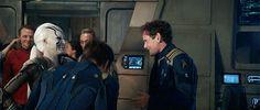 Behind the scenes of 'Star Trek - Beyond', Sofia Baoutella, Chris Pine and Anton Yelchin
