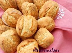 THERMOFAN: Panecillos rápidos y crujientes (TMX / T) Bread Recipes, Snack Recipes, Dessert Recipes, Snacks, Pan Rapido, Pan Dulce, Pan Bread, Empanadas, Sin Gluten