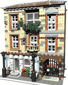 Casa Lego, Brick Construction, Building Drawing, Lego 4, Lego Modular, Awesome Lego, Cool Lego Creations, Lego Architecture, Lego Stuff