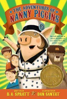 The Adventures of Nanny Piggins by R. A. Spratt https://www.amazon.com/dp/B00873GP1K/ref=cm_sw_r_pi_dp_x_wiM1ybZQ04FM9