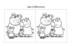 Spot The Difference Worksheets for Kids | Activity Shelter