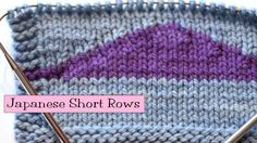 Japanese Short Rows - VeryPink offers knitting patterns and video tutorials from Staci Perry. Short technique videos and longer pattern tutorials to take your knitting skills to the next level. Knitting Short Rows, Knitting Help, Knitting Stiches, Knitting Videos, Knitting Projects, Knitting Socks, Stitch Patterns, Knitting Patterns, Tips & Tricks
