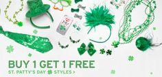 U.S. & CA fans, score your #StPatricksDay jewelry & accessories now!
