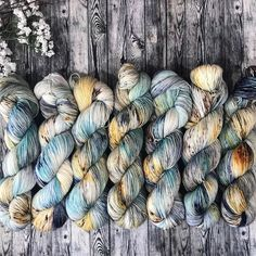 This weekend I will be laying on a beach sipping a cool drink knitting talking about knitting and then knitting some more. Im going to @knitforthesoul s knitting retreat and I couldnt be more excited. I dyed up a special colorway just for the retreat but Im loving it so much I think maybe it needs to be a shop regular. What do you think? - #knittersofinstagram #knittersgonnaknit #knitting #makersgonnamake #knitsagram #knitting #knitter #instaknit #knittersofig #indiedyers…