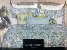New Cynthia Rowley Bedding From Tj Maxx Bedrooms Pinterest Painted Headboards Tj Maxx