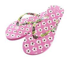 Flip Flops in Priscilla Pink   Vera Bradley