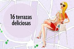 Mapa de las mejores terrazas de Madrid | Madrid Confidential