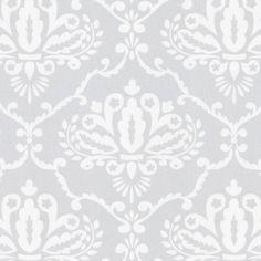 Gray Damask Fabric