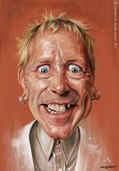 "John Lydon- ""Johnny Rotten"" of the Sex Pistols"
